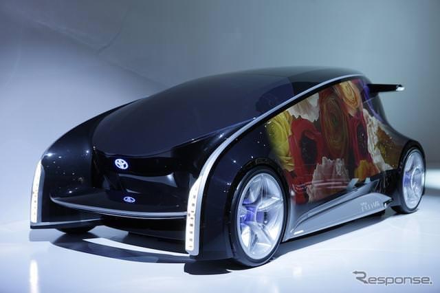 [新聞]大手自動車會社TOYOTA發表全新概念車Fun-Vii