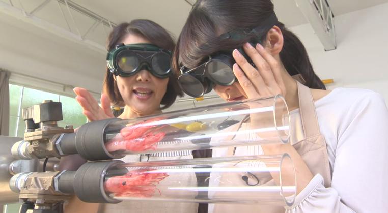 [食譜教學]3秒完成就能完成的極速炸蝦-日本行動上網廣告(附日文教學)