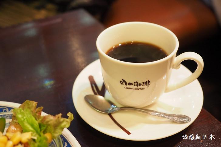 [熊本咖啡]岡田咖啡上通本店-創業60年的咖啡館老店@蛋糕大推薦!