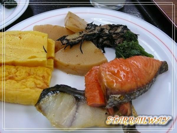 [秋田美食]ホテルタザワ・バイキング朝食