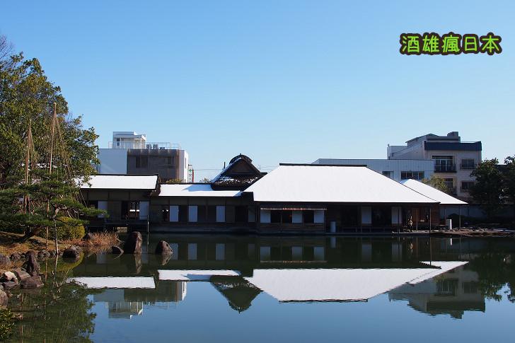 [福井景點]養浩館庭園-享受旅行中的片刻寧靜