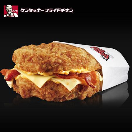 [新聞]重裝登日!KFC雙層炸雞堡!